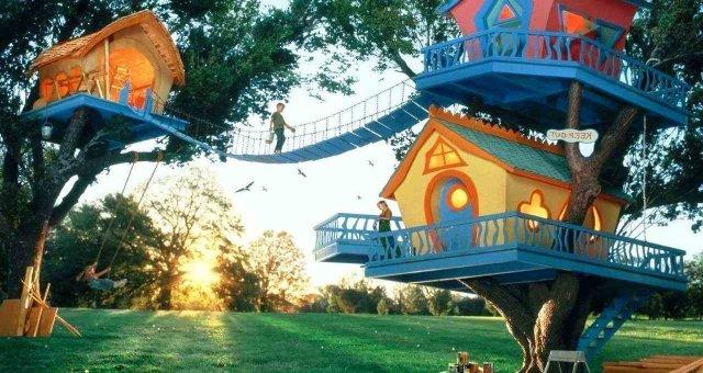 дитячий-будинок на дереві