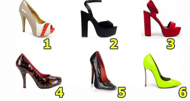 Женский тест: выбери туфли