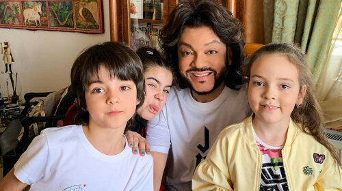 С любимой крестницей и родными детками: Киркоров показал, как отпраздновал день рождения дочки Ани Лорак