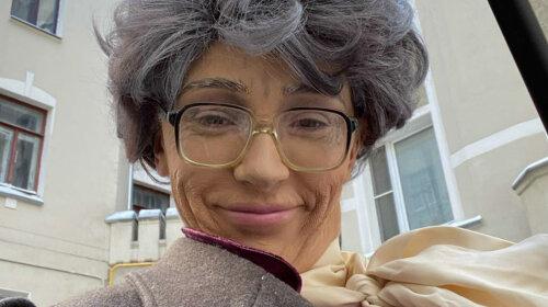 Зморщена стара: Настя Івлєєва представила себе в старості через 50 років
