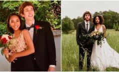 Пари, які зберегли любов зі шкільної лави: фото до і після