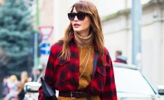 plaid-shirt-belted-dress-boots-street-style-