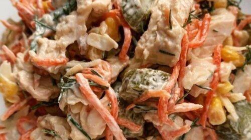 Сытный салат «Обжорка»: получается нереально вкусным - съел немного и наелся