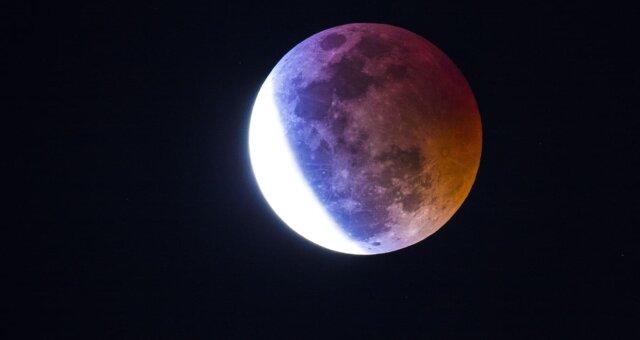 Лунное затмение 10 января 2020