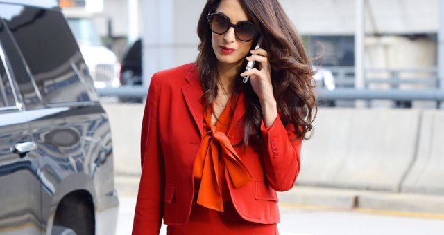 Amal Clooney seen out in Manhattan on SEPTEMBER 20, 2017 in New York City, New York