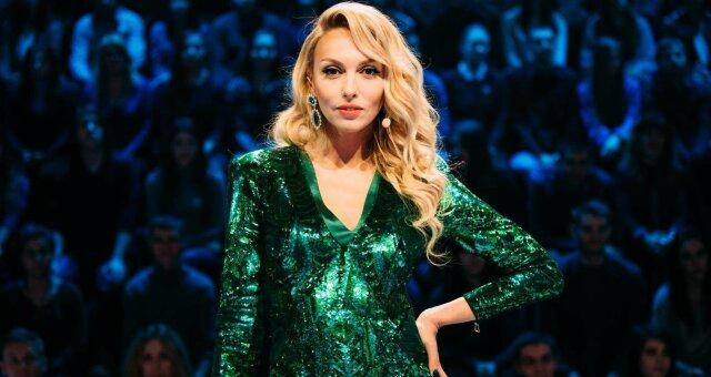 Оля Полякова, фото, новый год, концерт