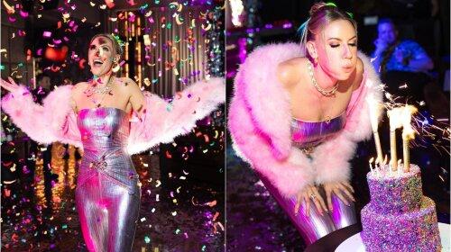 В стиле диско: Леся Никитюк с размахом отметила свой День рождения – фотографии с гламурной дискотеки