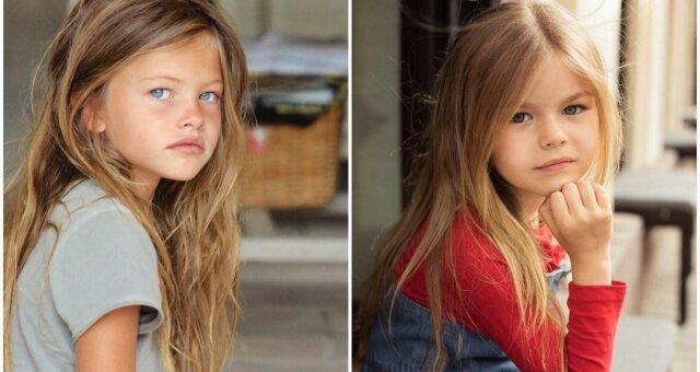 З'явилася нова «найкрасивіша дівчинка в світі»