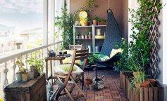 идеи декора, декор балкона, фото красивых балконов