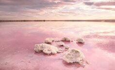 Найбільш незвичайне озеро України змінило колір (ФОТО)