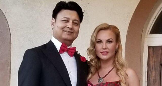 Камалия с супругом Мохаммадом Захуром