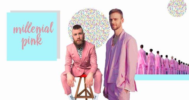 Millenial pink цвет