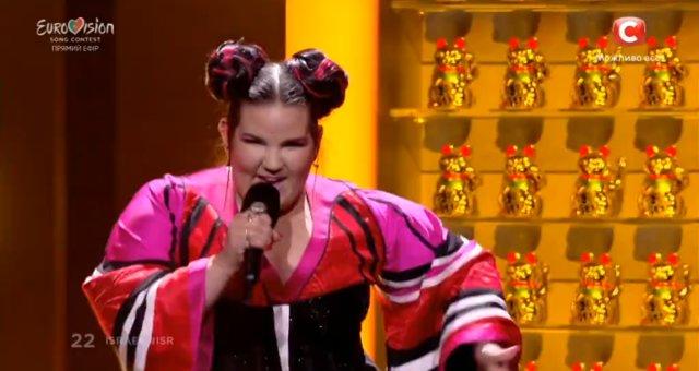 Netta в финале Евровидения 2018 / финал Евровидения 2018
