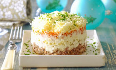Салат мимоза – пошаговая инструкция приготовления