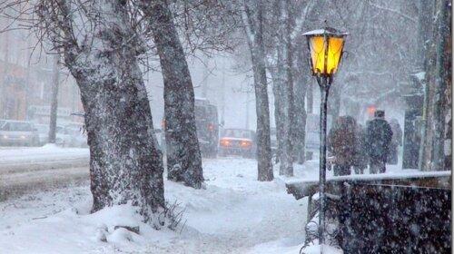 Совсем скоро Киев накроет снегом
