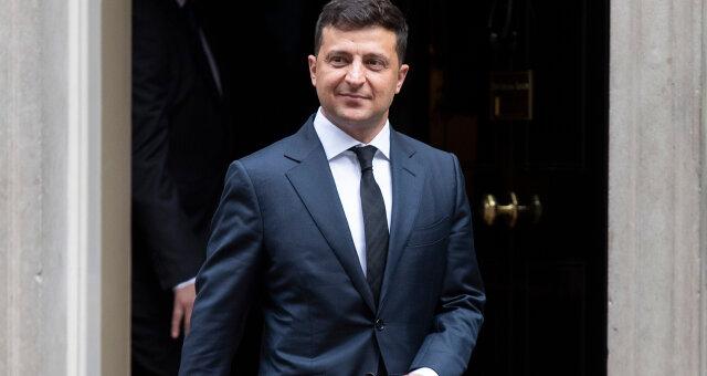 Президент Украины, Владимир Зеленский, прививка от COVID19