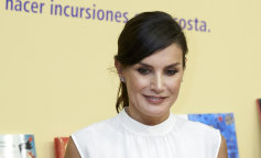Queen Letizia Of Spain Attends The Opening of Madrid Book Fair 2019