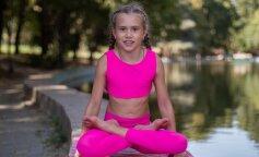 Дівчинка з України здивувала всіх неймовірною гнучкістю: майстер йоги