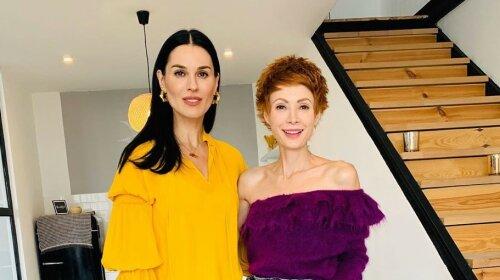 Джинсы, декольте и леопард: как Маша Ефросинина сходила в гости к невесте министра Розенко