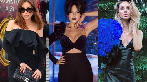 Шкіра, оксамит і гіпюр: Кароль, Каменських, Лобода і Лорак показали свої маленькі чорні сукні – найбільш стильні образи зірок