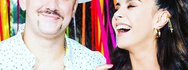 Милые до кончиков волос: Потап с женой показали стильный family-look