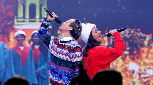 Злата Огневич, Артем Пивоваров, новый год, концерт