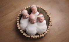 Женщина родила сразу две пары близнецов (ФОТО)