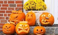 Хэллоуин, конкурсы для детей, вырезаем тыквы