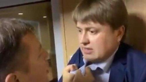 Зеленский уволил Геруса после его драки с Ляшко в аэропорту