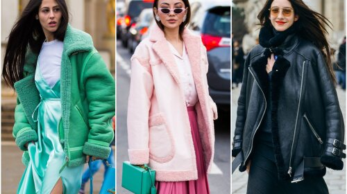 Самые модные дубленки 2020: как носить и с чем сочетать