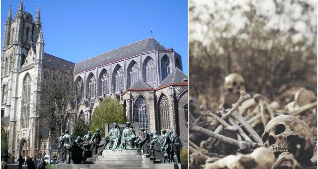 Стены из костей в Бельгии