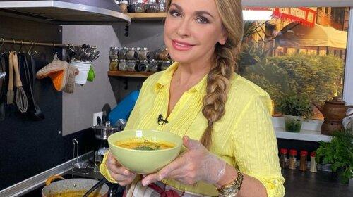 Ольга Сумська показала святковий рецепт