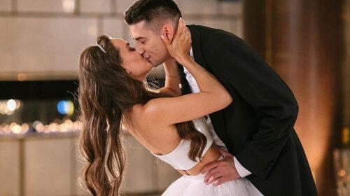 Мишина появилась в образе невесты