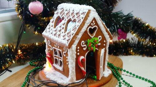Пряничный домик: яркое, а главное, вкусное украшение новогоднего стола и большая радость для детей