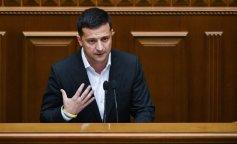 Сеть рассмешило выражение лица Зеленского во время речи депутата БПП (фото и видео)