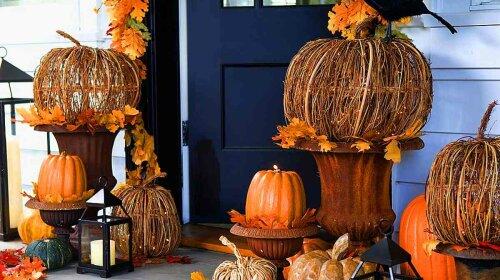 Как украсить дом на хэллоуин 2017