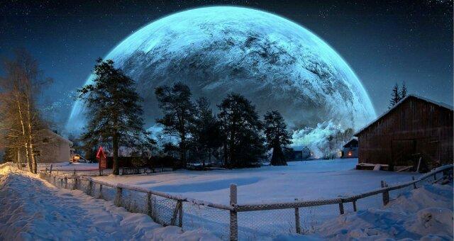 Луна сегодня 13 февраля