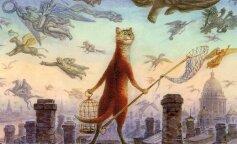 """Умер художник, который написал серию популярных картин """"Петербургские коты"""""""