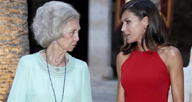 королева София и королева Летиция