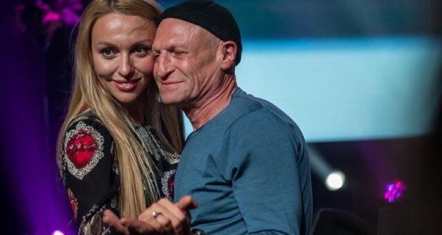 Оля Полякова, певица, муж, знакомство
