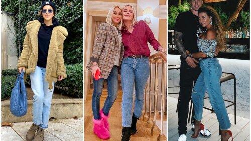 Джинсы, которые выбирают знаменитости: лучшие модели на каждый день от Лорак, Лободы, Седоковой, Кудрявцевой и других