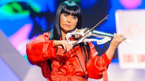 Ассия Ахат, скрипачка, внешний вид