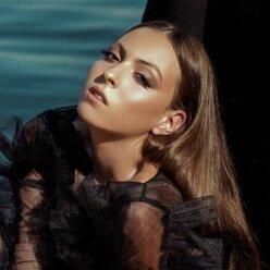 Маша Полякова, новый образ, Оля Полякова, фото