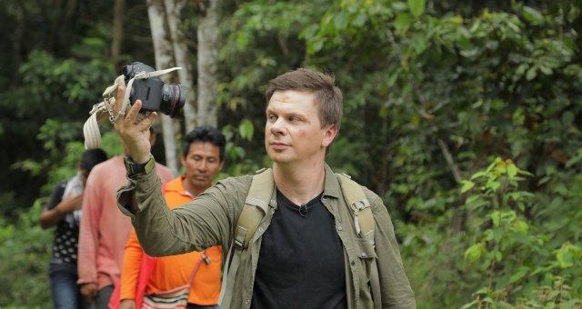 Дмитрий Комаров, Бразилия, Світ навиворіт