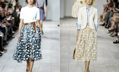 Шелковые юбки: как носить и с чем сочетать новый символ женственности (фото)