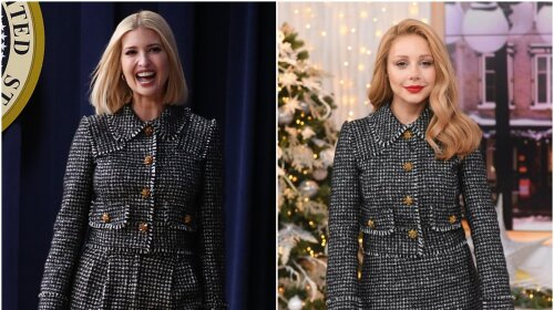 Тіна Кароль проти Іванки Трамп: один костюм – два різних образа