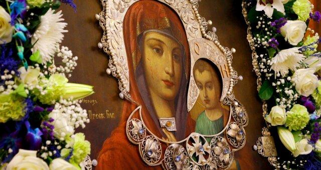 Афонская икона Прибавления ума, молитва Богородице