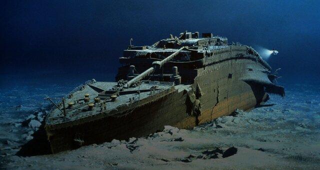 Как выглядит Титаник сейчас