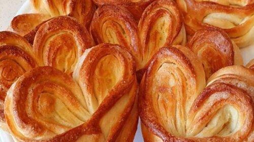 Сахарные плюшки как в детстве у бабушки - мягкие, пушистые  с хрустящей сладкой корочкой