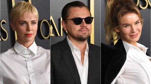 Шарліз Терон, Леонардо Ді Капріо, Рене Зеллвегер і інші зірки на сніданку на честь номінантів на «Оскар»